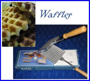 piastra per waffles