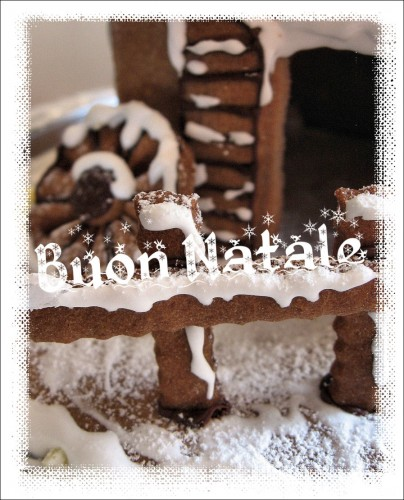 Gingerbread house - Casetta di Pan di zenzero