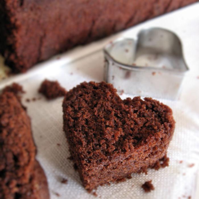 Cuoricino di plum cake