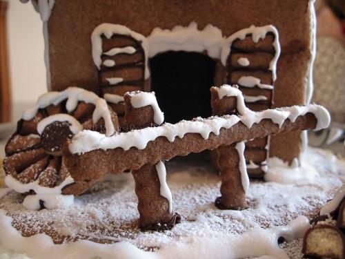 Casetta Di Natale Con Biscotti : Casetta di natale in biscotto gingerbreadhouse in cucina con me