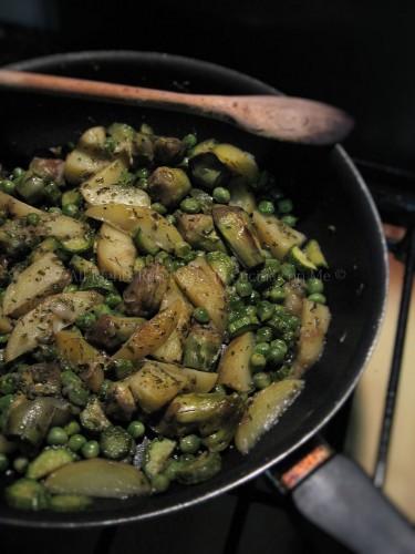 verdure saltate in padella