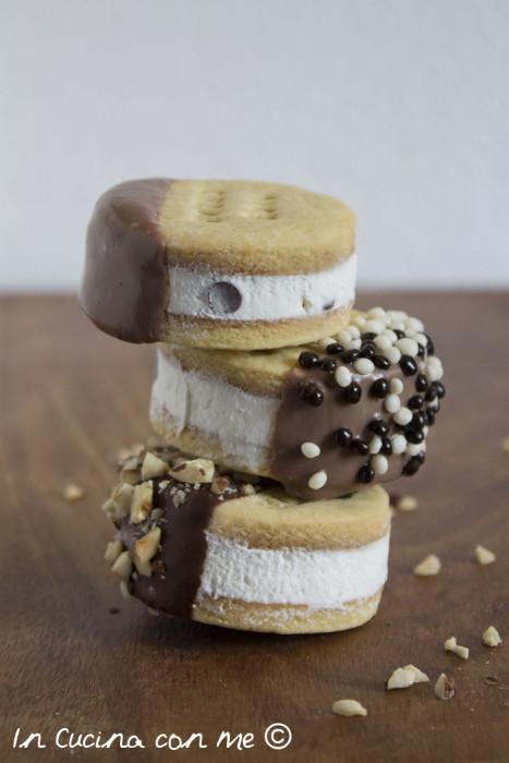 Tris di biscotti gelato