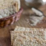 Crackers ai semi di sesamo