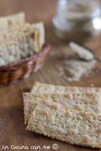 Crackers ai semi di sesamo C