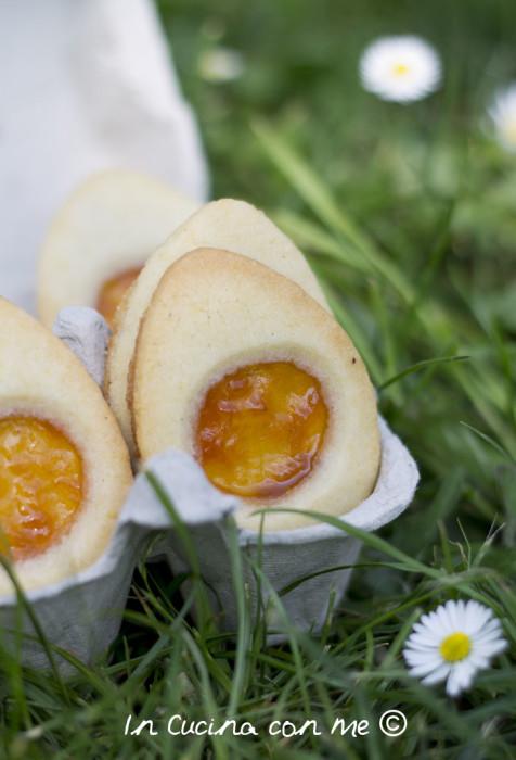 Biscotto di riso a forma d'uovo