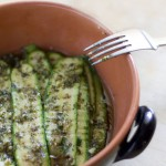 Le zucchine grigliate dal sapore d'estate