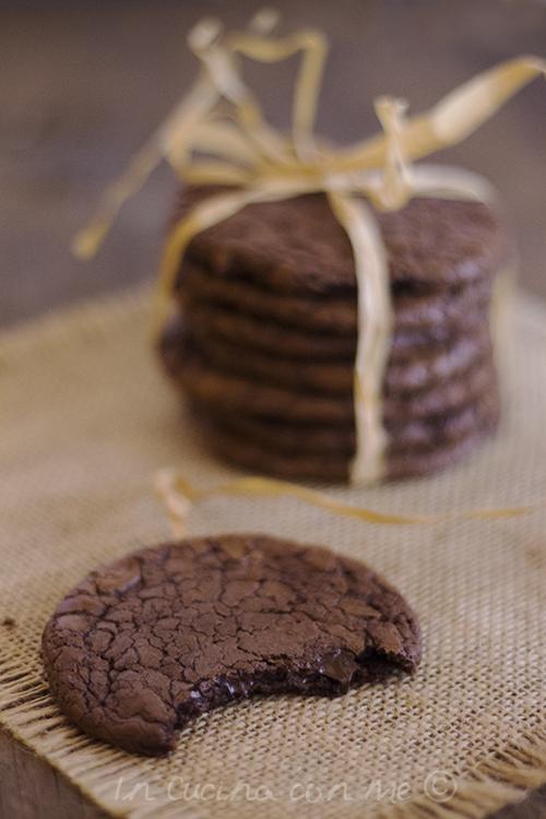 Chcolate cookies morso
