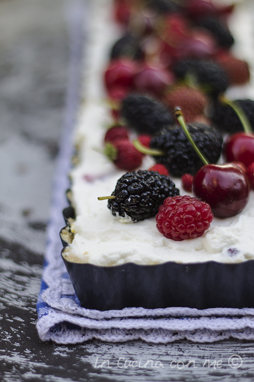 No bake cheesecake fetta