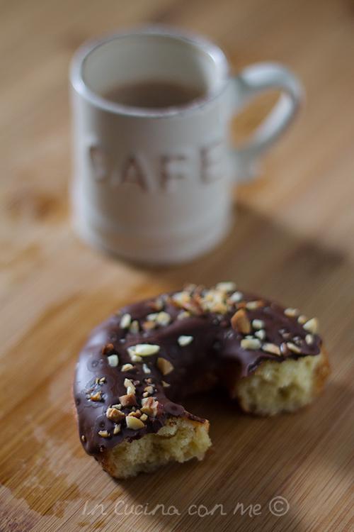 Donut morsicato