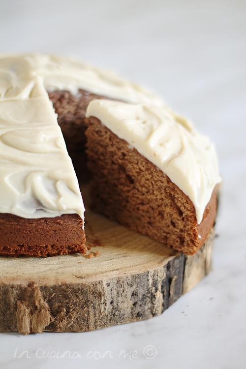 Ginger cake torta
