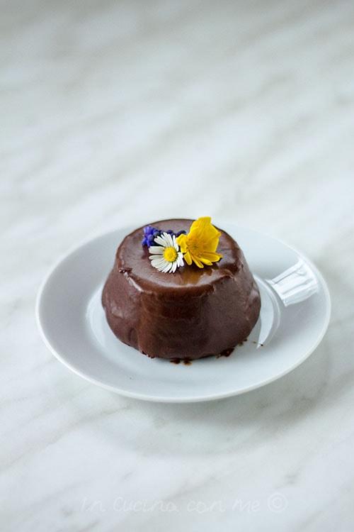 Tortini glassati al cioccolato 1