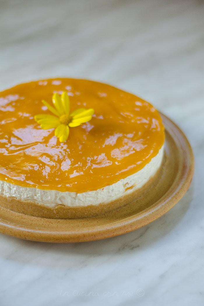 No bake cheesecake al mango