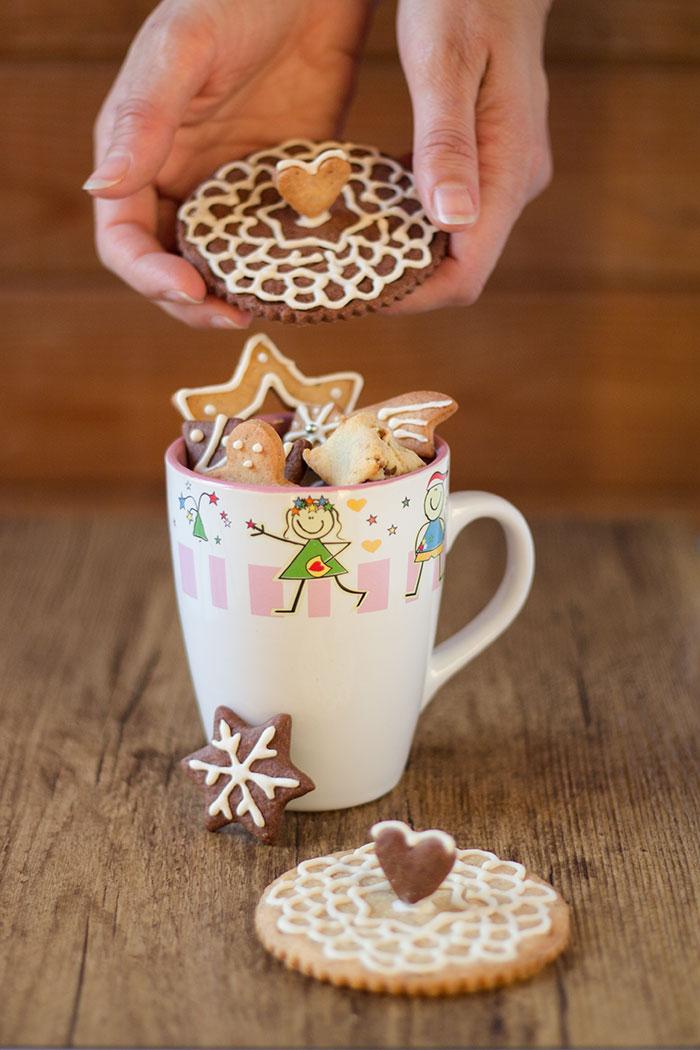 biscotti copri tazza
