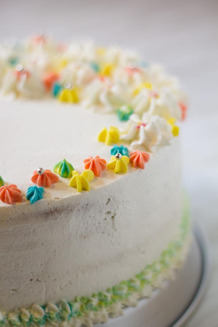 funfetti cake dettaglio