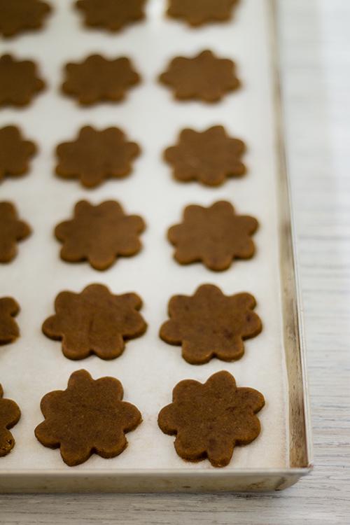 Biscotti di pasta frolla al caffè