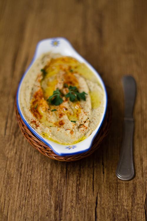 Hummus di melanzane (baba ganoush)