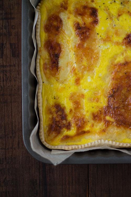 Tarte au maroilles - Torta salata al formaggio