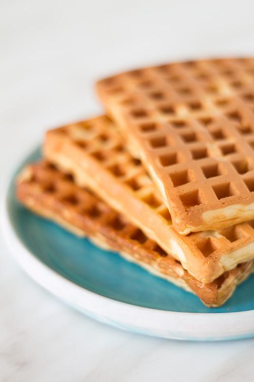 Waffles con lievito di birra - In Cucina con Me