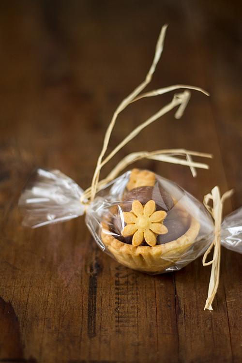 Mini cestino di frolla con biscotti e dovetti - In Cucina con Me