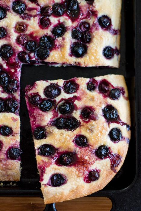 Focaccia con l'uva - In Cucina con Me