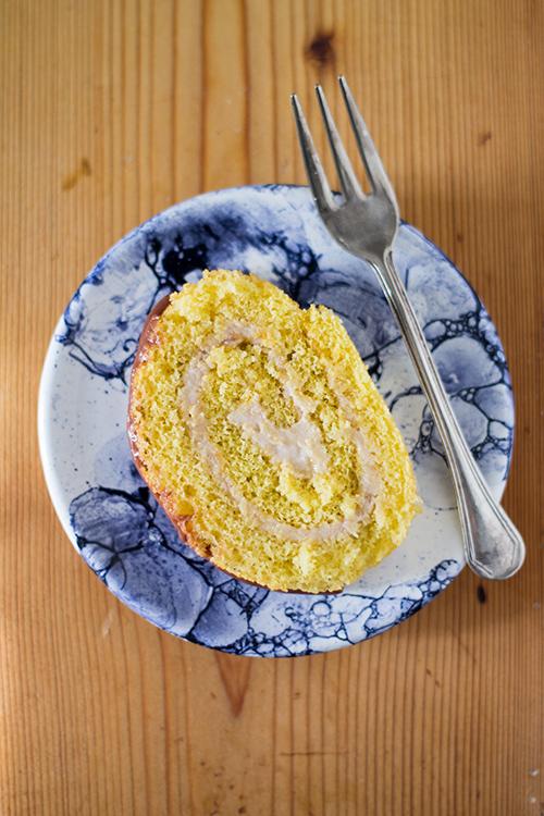 Rotolo alla crema di castagne - In Cucina con Me