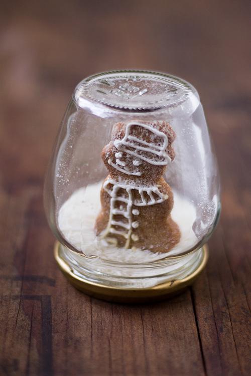 Palla di neve con biscotto - In Cucina con Me