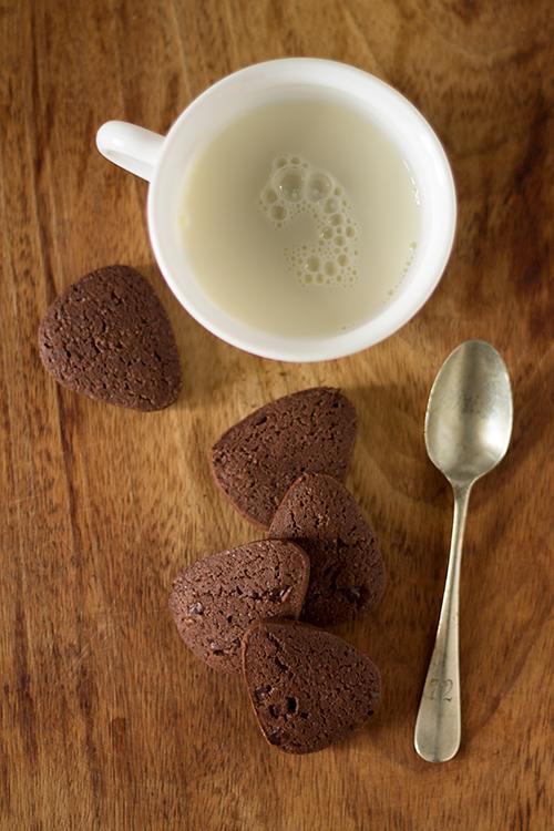 Gocciole extra fondenti con gocce di cioccolato