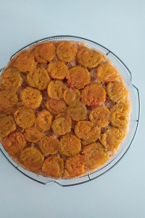 Torta rovesciata di susine