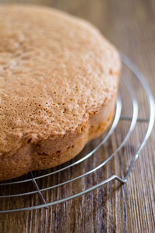 Torta arancia e vaniglia