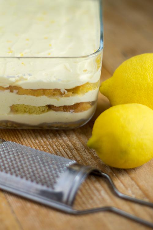 Tiramisù al limone - In Cucina con Me